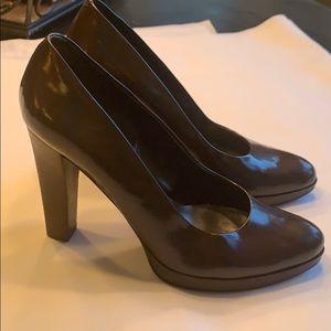 Nine West brown heels 7